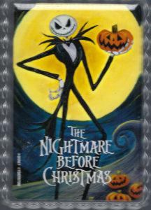 The Nightmare Before Christmas, Jack holding a jack-o-lantern